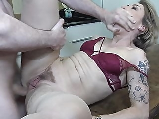 Mother gets rough anal sex from son amateur anal blowjob