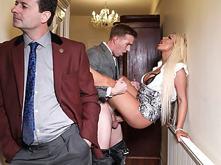 Brooklyn Blue & Danny D in Behind Her Husbands Back - BRAZZERS big ass big tits blonde