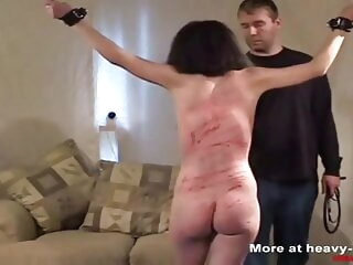 Hard pricking for the slave bdsm spanking hd videos