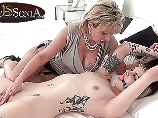 Aunt Sonia's neice needs money to buy a car lesbian mature old & young