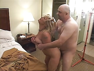 Trailer Trash Big Tit Blonde Mom Got Butt Fucked anal bbw mature