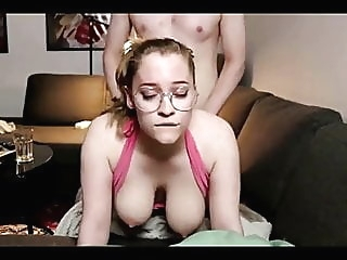 The girl with glasses knows how to fuck amateur cumshot british