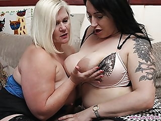 LACEYSTARR - The LandLady with Jem Summers bbw fingering lesbian
