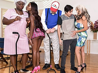 Noemie Bilas & Sally D'Angelo & Ricky Spanish in Bingo Bang - BRAZZERS anal big ass big tits