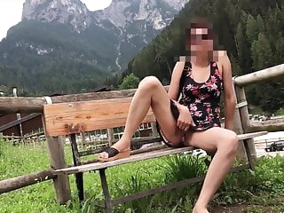 When my sexy wife was out of reach of summer slip in she showed bloodline will not hear of pussy amateur pornstar public nudity