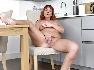 The rouse of my granny fetish 0341 mature redhead granny