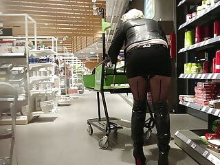 Eventide Shopping 2 amateur upskirt flashing