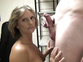 Blowjob from amateur Danish milf from piger.eu amateur blowjob handjob